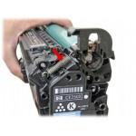 Как заправить картриджи HP CE250A, CE250X, CE251A, CE252A, CE253A самостоятельно