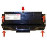 Как заправить картридж Samsung SF-5100D3 для лазерных принтеров Samsung самостоятельно