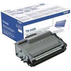 Картридж TN-3430 для Brother DCP-L5500DN/ L6600DW, HL-L5000D/ L5100DN/ L5100DNT/ L5200DW/ L5200DWT/ L6250DN/ L6300DW/ L6300DWT/ L6400DW/ L6400DWT, MFC-L5700DN/ L5750DW/ L6800DW/ L6800DWT/ L6900DW/ L6900DWT, черный (3000 стр.)
