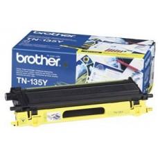 Тонер-картридж TN-135Y для Brother HL-4040CN/ 4050CDN/ 4070CDW, DCP-9040CN/ 9042CDN/ 9045CDN, MFC-9440CN/ 9450CDN/ 9840CDW, желтый (4000 стр.)