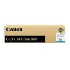 Барабан C-EXV 34 (3787B003BA) для Canon IR ADV C2020/ 2030, голубой (16000 стр.)
