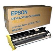 Картридж C13S050034 для Epson AcuLaser C1000/ C2000, желтый (6000 стр.)