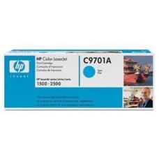 Картридж C9701A для HP Color LaserJet 1500L/ 2500/ 2500L голубой (4000 стр.)
