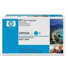 Картридж C9721A для HP Color LaserJet 4600/ 4600n/ 4600dn/ 4600dtn/ 4600 hdn/ 4650/ 4650n/ 4650dn/ 4650dtn/ 4650hdn голубой (8000 стр.)