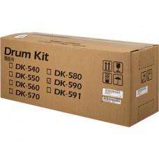 Фотобарабан DK-590 (302KV93017) для Kyocera Mita FS-C2026MFP+/ C2126MFP+, черный (100000 стр.)
