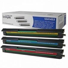 Набор фотобарабанов 12A1455 для Lexmark Optra Color 1200, цветной (13000 стр.)
