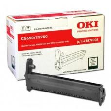 Барабан 43870008 для OKI C5650/ C5750, черный (20000 стр.)