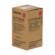 Девелопер D-FC28-M для Toshiba E STUDIO 2020C/ 2330C/ 2820C/ 3520C/ 4520C, пурпурный (70000 стр.)