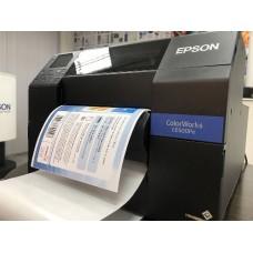 Новый принтер Epson ColorWorks для печати этикеток