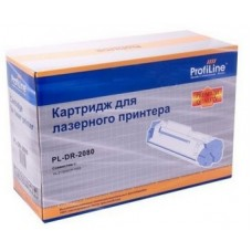Драм-картридж аналог DR-2080 (ProfiLine PL-DR-2080) для Brother HL-2130/ 2130R/ 2132/ 2132R/ 2135W/ 2210/ 2220/ 2230/ 2240/ 2242D/ 2250/ 2270DW/ 2280DW/ DCP-7055/ 7055R/ 7055WR/ 7057/ 7057R/ 7057WR/ 7060D/ 7060DR/ 7065DN/ 7065DNR/ 7070DW/ 7070DW, черный (