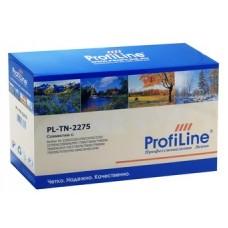 Картридж аналог TN-2275 (ProfiLine PL-TN-2275) для Brother HL-2240R/ 2240DR/ 2250DNR, DCP-7060DR/ 7065DNR/ 7070DWR, MFC-7360NR/ 7860DWR, FAX-2845R/ 2940R, черный (2600 стр.)