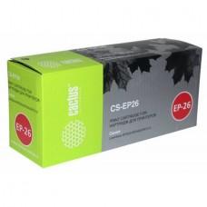 Картридж аналог EP-26 (CACTUS CS-EP26) для Canon LaserBase MF3110/ MF5630/ MF5650/ MF5730/ MF5750/ MF5770/ LBP-3200, черный (2500 стр.)