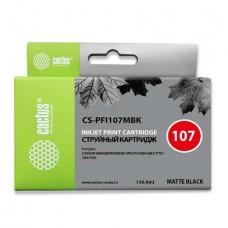 Картридж аналог PFI-107M (6707B001) (CACTUS CS-PFI107M) для Canon iPF680/ iPF685/ iPF670/ iPF770/ iPF780/ iPF785, пурпурный (130 мл.)
