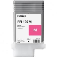 Картридж аналог PFI-107M (6707B001) (Совместимый) для Canon iPF680/ iPF685/ iPF670/ iPF770/ iPF780/ iPF785, пурпурный (130 мл.)