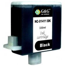 Картридж аналог BCI-1411Bk (7574a001 ) (Совместимый) для Canon W7200, черный (330 мл.)