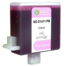 Картридж аналог BCI-1411LM (7579a001 ) (Совместимый) для Canon W7200, пурпурный (330 мл.)