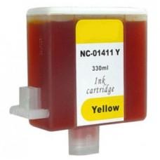 Картридж аналог BCI-1411Y (7577a001 ) (Совместимый) для Canon W7200, желтый (330 мл.)
