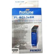 Картридж аналог BCI-3eBk (ProfiLine PL-BCI-3eBk) для Canon S400/ S450/ S500/ S530/ i550/ S600/ S630/ S750/ S4500/ ip3000/ BJC-3000/ 6000 Series, черный (310 стр.)