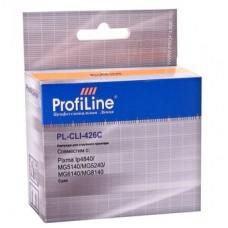 Картридж аналог CLI-426C (ProfiLine PL-CLI-426C) для Canon Pixma IP4840/ MG5140/ MG5240/ MG6140/ MG8140, голубой (462 стр.)