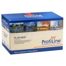 Картридж аналог EP-26/ EP-27 (ProfiLine PL-EP-26/ PL-EP-27) для Canon LBP3200/ 3210/ 300N/ MF3110/ 5530/ 5550/ 5630/ 5650/ 5730/ 5770/ 3112/ 3220/ 3222/ 3240, черный (2500 стр.)