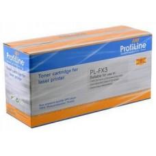 Картридж аналог FX-3 (ProfiLine PL-FX-3) для Canon Fax-L200/ 240/ 250/ 280/ 300/ 360/ 380/ 388/ 3100/ 6000 Laserclass 4000/ 4500, черный (2500 стр.)
