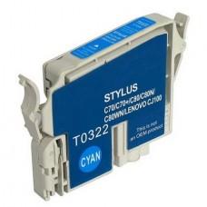 Картридж аналог C13T03424010 (Совместимый) для Epson Stylus Photo 2100, голубой (15,4 мл.)