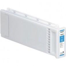 Картридж аналог C13T694200 (Совместимый) для Epson SC-T3000/ T5000/ T7000, голубой (700 мл.)