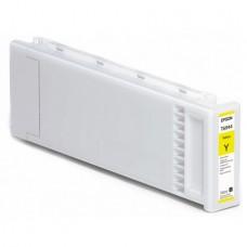 Картридж аналог C13T694400 (Совместимый) для Epson SC-T3000/ T5000/ T7000, желтый (700 мл.)