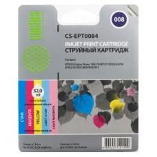 Картридж аналог C13T008401 (CACTUS CS-EPT0084) для Epson Stylus Photo 790/ 870/ 890/ 895/ 915, цветной (220 стр.)