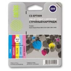 Картридж аналог C13T009401 (CACTUS CS-EPT009) для Epson Stylus Photo 900/ 1290/ 1290S/ 1270, цветной (330 стр.)