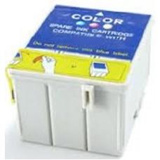 Картридж аналог C13T03904A (Совместимый) для Epson Stylus C41/ C43/ C45, цветной (180 стр.)