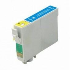 Картридж аналог C13T048240 (Совместимый) для Epson Stylus Photo R200/ R220/ R300/ R320/ R340/ RX500/ RX600/ RX620, голубой (430 стр.)