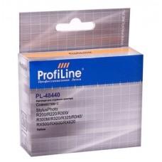 Картридж аналог C13T048440 (ProfiLine PL-48440) для Epson Stylus Photo R200/ R220/ R300/ R300M/ R320/ R325/ R340/ RX500/ RX600/ RX620, желтый (430 стр.)