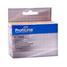 Картридж аналог C13T048640 (ProfiLine PL-48640) для Epson Stylus Photo R200/ R220/ R300/ R300M/ R320/ R325/ R340/ RX500/ RX600/ RX620, светло-пурпурный (430 стр.)