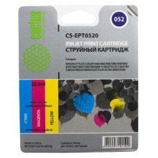 Картридж аналог C13T052040 (CACTUS CS-EPT0520) для Epson Stylus Color 740/ 760/ 1160, цветной (300 стр.)
