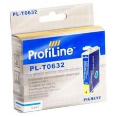 Картридж аналог C13T06324A (ProfiLine PL-0632) для Epson C67/ C87/ CX3700/ CX4100/ CX4700, голубой (250 стр.)
