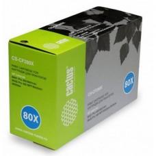 Картридж аналог CF280XD (CACTUS CS-CF280XD) для HP LaserJet Pro 400/ M401/ M425, черный (6900х2 стр.)