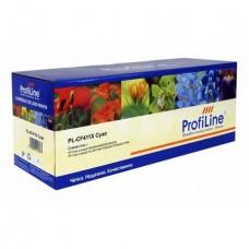 Картридж аналог CF411X (№410X) (ProfiLine PL-CF411X) для HP Color LaserJet Pro M452, M477, голубой (5000 стр.)