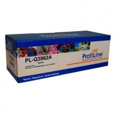 Картридж аналог Q3962A (ProfiLine PL-Q3962A) для HP Color LaserJet 2550/ 2550Ln/ 2550n/ 2820/ 2840, желтый (4000 стр.)