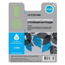 Картридж аналог C2P24AE (№935XL) (CACTUS CS-C2P24AE) для HP Officejet Pro 6230/ 6830 e-All-in-One, голубой (825 стр.)