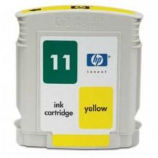 Картридж аналог C4838A (№11) (Совместимый) для HP Business Inkjet 1000/ 1100/ 1200/ 2200/ 2230/ 2250/ 2280/ 2300/ 2600/ 2800, Color Inkjet CP 1700, Officejet 9110/ 9120/ 9130, желтый (1750 стр.)