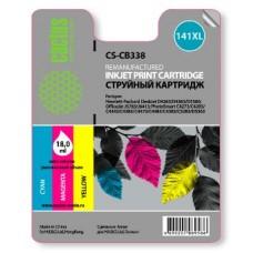 Картридж аналог (CMY) CB338H (№141XL) Vivera (CACTUS CS-CB338) для HP OfficeJet J5783, DeskJet D4263, PhotoSmart С4283/ С5283, цветной (580 стр.)