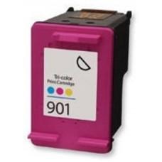 Картридж аналог (CMY) CC656A (№901) (Совместимый) для HP OfficeJet J4524/ J4580/ J4624/ J4680, цветной (360 стр.)