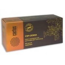 Картридж аналог CE505A (CACTUS PREMIUM CSP-CE505A) для HP LaserJet P2055/ P2035, черный (3500 стр.)