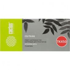 Картридж аналог TK-450 (CACTUS CS-TK450) для Kyocera FS-6970DN, черный (15000 стр.)