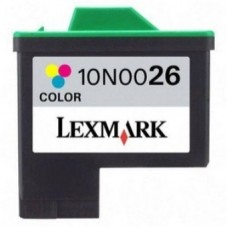 Картридж аналог 10N0026E (№26) (Совместимый) для Lexmark Z13/ Z23/ Z24/ Z25/ Z33/ Z34/ Z35/ Z513/ Z515/ Z517/ Z601/ 602/ Z603/ 605/ Z611/ Z612/ Z615/ Z617/ Z640/ Z645/ i3/ X72/ X74/ X75/ X1110/ X1130/ X1150/ X1170/ X1180/ X1185/ X1190/ X1270/ X2250, цветн