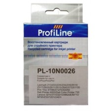Картридж аналог 10N0026 (ProfiLine PL-10N0026) для Lexmark Z13/ 23e/ 33, цветной (275 стр.)