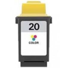 Картридж аналог 15M0120E (№20) (Совместимый) для Lexmark Z42/ Z43/ Z44/ Z45/ Z51/ Z52/ Z53/ Z54/ F4270/ P706/ P707/ P3120/ P3150/ X63/ X70/ X73/ X80/ X83/ X84/ X85/ X4250/ Compaq A1000/ A1500/ A3000/ A4000/ J1200/ Samsung SF4700/ SCX1000 Series, цветной (