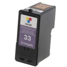 Картридж аналог 18CX033E (№33) (Совместимый) для Lexmark Z815/ Z816/ Z818/ P315/ P450/ P915/ P4350/ P6250/ P6350/ X3330/ X3350/ X4350/ X5250/ X5270/ X5470/ X7170/ X7350/ X8350, цветной (190 стр.)