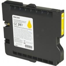 Картридж аналог GC-31Y (405691) (Совместимый) для Ricoh Aficio GX-e2600/ e3300N/ e3350N/ e5550N, желтый (1920 стр.)